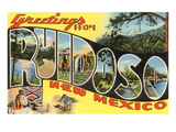 Greetings from Ruidoso  New Mexico