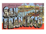 Greetings from San Francisco  California