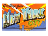 Greetings from New York City  New York