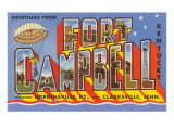 Greetings from Fort Campbell  Kentucky