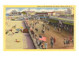 Boardwalk  Asbury Park  New Jersey