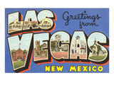 Greetings from Las Vegas  New Mexico