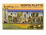 Greetings from North Platte  Nebraska
