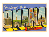 Greetings from Omaha  Nebraska