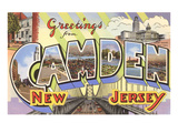 Greetings from Camden  New Jersey