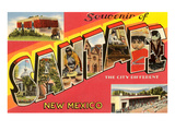 Souvenir of Santa Fe  New Mexico