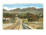 Organ Mountains  Las Cruces  New Mexico