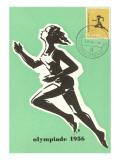 Olympic Runner  1956