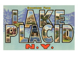 Greetings from Lake Placid  New York