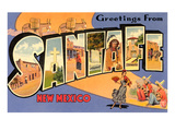 Greetings from Santa Fe  New Mexico