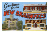 Greetings from New Braunfels  Texas