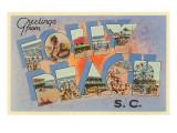 Greetings from Folly Beach  South Carolina