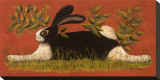 Red Folk Bunny