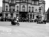 Vincent HRD  JM West in Isle of Man TT  Parliament Square Ramsey