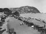 The Seaside Resort of Minehead in Somerset  England  1930's