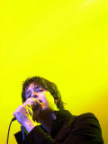 The Strokes Frontman Julian Casablancas on Stage T in the Park at Balado  11th July 2004
