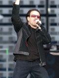 Bono on Stage  U2 Concert Glasgow  June 2005