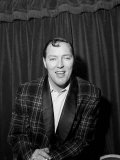 Bill Haley Rock and Roll Singer on His First Visit to England  1957