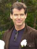 Pierce Brosnan at Chelsea Flower Show  May 2002