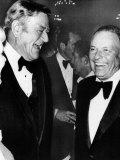 Frank Sinatra with John Wayne