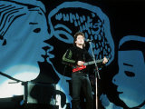 Lou Reed Pop Singer on Stage at Mandela Day Concert 1990 Wembley Stadium