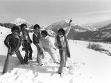 The Jackson 5 February 1979 Performing in Switzerland on the Slopes the Jackson Five