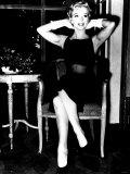 Marilyn Monroe Hands Behind Head Gloves