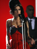 "Amy Winehouse Performs ""Rehab"" at 2007 Brit Awards from London's Earls Court on Valentines Day 2007"