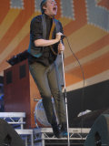 Ricky Wilson of the Kaiser Chiefs at the Glastonbury Festival June 2007 Glastonbury Festival