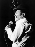 Sammy Davis Junior Jnr American Singer Actor on Stage in March 1982