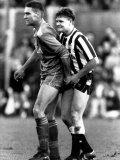Paul Gascoigne and Vinnie Jones