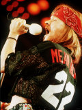 Axl Rose of Guns N Roses on Stage 1993