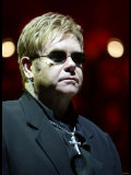 Elton John in Concert - July 2004 on His World Tour For His Firet Night in the UK at Wembley Arena