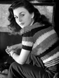 Jean Simmons Young Film Actress January 1946