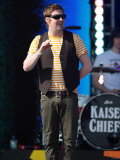 Ricky Wilson  Kaiser Chiefs at the T4 Party on the Beach  Weston Supermare