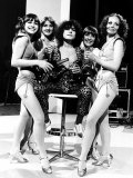 Marc Bolan Pop Singer with 'The Heart Throb' Girls