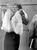 "Sophia Loren Filming ""The Millionairess"" at London Bridge  June 1960"