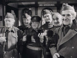 "Cast of BBC's ""Dad's Army"" Got Together For the Last Time After the Recording"