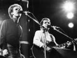 On Stage Art Garfunkel and Paul Simon at Wembley June 1982