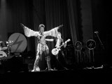 David Bowie Performing on Stage at the Dome Theatre Brighton
