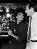 Leonard Rossiter Actor and Joan Collins in Cinzano Advert