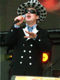 George of Culture Club Performing to an Audience in Aid of the Princes Trust