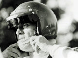 Steve McQueen McQueen is Fascinated by Speed and Motorbikes in Particular
