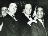 Frank Sinatra  Jack Lemmon  and Sammy Davies Jr  October 1968
