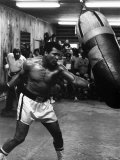 Muhammed Ali Boxer Training For the Fight with Leon Spinks