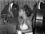 Jazz Singer Nina Simone  Performing at Annie's Club  June 1965