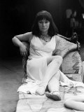 Helen Mirren Actress March 1965 Who Plays Cleopatra Picture During a Break from Rehearsals
