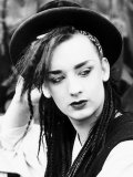 Boy George Lead Singer of Pop Group Culture Club
