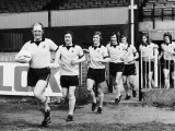 Elton John Superstar Leading Watford Fc Out For Training