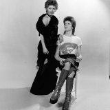David Bowie and Lulu - December 1973 Davidbowie Singers Studio Shot